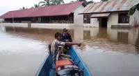 Banjir 1-2 Meter Rendam 7 Kecamatan di Kapuas Hulu, Warga Diminta Waspada