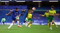 Chelsea vs Norwich, The Blues Unggul 1-0 pada Babak Pertama