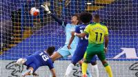 Chelsea vs Norwich, Gol Tunggal Giroud Beri The Blues  Tiga Poin