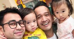 FOTO: Ruben Onsu dan Raffi Ahmad Dikatakan Pantas Jadi Besan