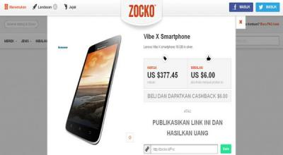 Zocko.com, Hasilkan Uang Melalui Berbagi Link