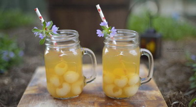 Lychee Mocktail Manis di Mulut