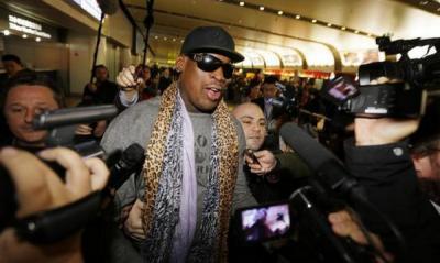 Dennis Rodman Tepis Kabar Kunjungi Markas ISIS
