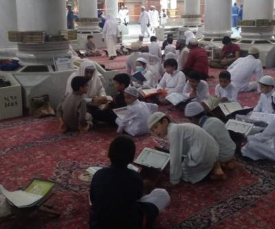 Mengintip Anak-Anak Penghafal Alquran TPA Masjid Nabawi
