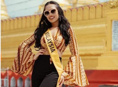 Kontroversi Batik yang Dikenakan Miss Grand International Malaysia