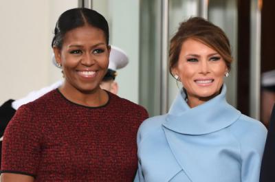 Kamar Mandi Terpisah Jadi Rahasia Awetnya Pernikahan Melania Trump dan Michelle Obama