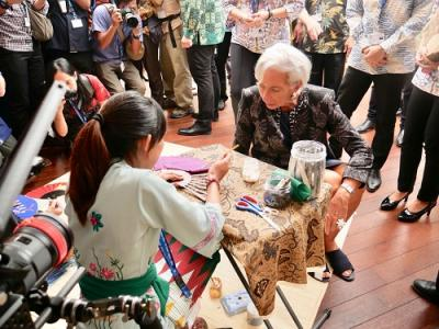 Bos IMF Obral Pujian buat Indonesia Selama Pertemuan di Bali, Apa Saja?
