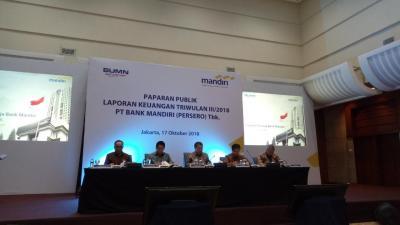 Naik 20%, Laba Bersih Bank Mandiri Tembus Rp18,1 Triliun