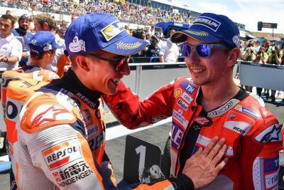 Legenda MotoGP Anggap Kehadiran Lorenzo di Honda Untungkan Marquez
