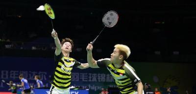 Kalahkan Pasangan Tiongkok, Kevin Marcus ke Babak Kedua Denmark Open 2018