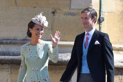 Pippa Middleton Melahirkan, Kate Middleton Resmi Jadi Tante