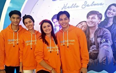 Para Bintang Dear Nathan: Hello Salma Sapa Fans Dahsyat di Serpong