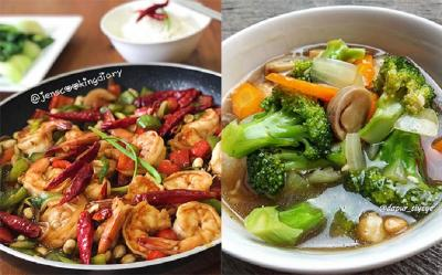 Makan Malam Semakin Spesial dengan Kung Pao Shrimp dan Brokoli Saus Tiram