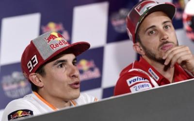 Marquez Bertekad Tingkatkan Kemampuan demi Kalahkan Dovizioso di Jepang