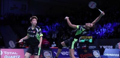 Kalah dari Wakil China, Langkah Tontowi Liliyana Terhenti di Semifinal Denmark Open 2018