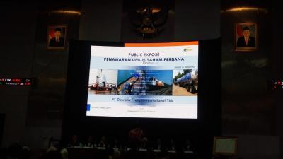 IPO, Dewata Freightinternation Lepas 300 Juta Saham