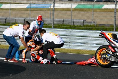 Marquez Ceritakan Kronologi Insiden dengan Redding saat Selebrasi Juara