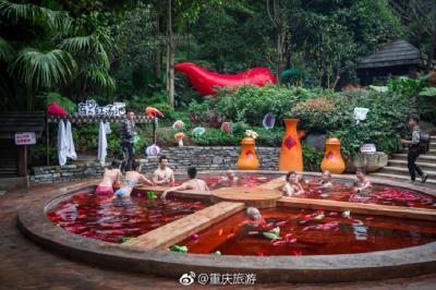 Mata Air Unik di China Bakal Bikin Kamu Terlihat Mirip Santapan Rebus