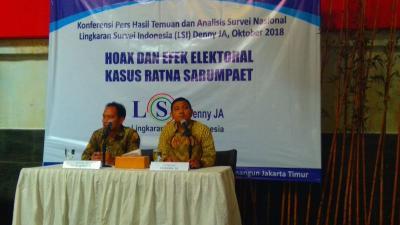 Efek Kasus Ratna Sarumpaet, Dukungan Kaum Terpelajar ke Jokowi-Ma'ruf Melonjak