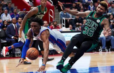 Celtics Berikan Pistons Kekalahan Perdana di NBA 2018-2019