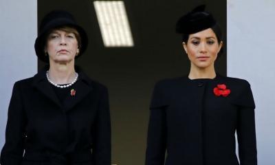 Hadiri Remembrance Day, Kenapa Posisi Meghan Markle Terpisah dengan Ratu dan Kate Middleton?