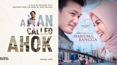 Pertarungan A Man Called Ahok dan Hanum & Rangga di Luar Bioskop