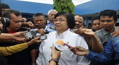 Di Hadapan Pengusaha, Menteri LHK: Kita Lalui Masa-masa Sulit Karhutla
