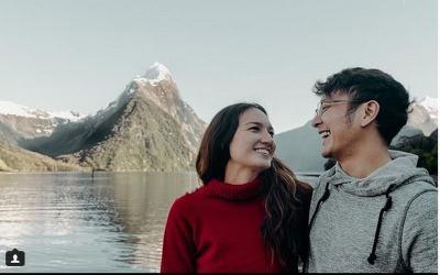 Intip Romantisnya Nadine Chandrawinata & Dimas Anggara selama Bulan Madu di Selandia Baru