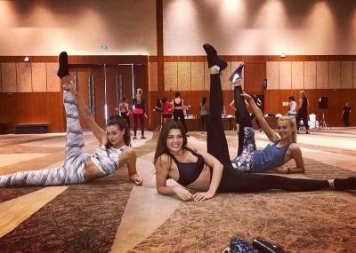Kontestan Miss World 2018 Latihan Dance Opening untuk Malam Final