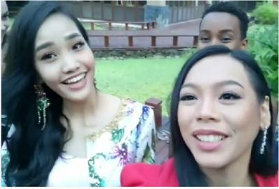 "Hari Ini, Alya Nurshabrina Tuntaskan Proses Syuting ""Head to Head Challenge"" Karantina Miss World 2018"