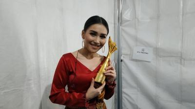 Berkat Fans yang Solid & Fanatik, Ayu Ting Ting Sabet Pedangdut Tergaul di ADI 2018