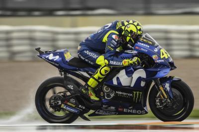 Tercecer di Kualifikasi, Rossi: Saya Merasa Sangat Tidak Nyaman