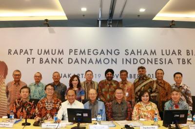 Bank Danamon Rombak Susunan Komisaris, Ini Daftarnya
