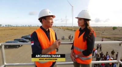 PLTB Tolo Rampung Akhir 2018, Arcandra: Tingginya Melebihi Monas