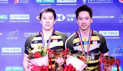 Marcus Kevin Ungkap Kunci Kemenangan di Hong Kong Open 2018