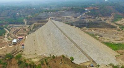 Rampung, Bendungan Logung Siap Diisi di Akhir November 2018