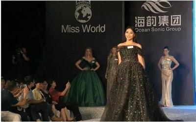 Penjurian Fast Track Kategori Top Model Miss World 2018, Alya Nurshabrina Cantik Berbalut Ball Gown Stardust