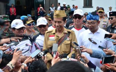 18 Keberhasilan Pemerintahan Presiden Jokowi, dari BBM Satu Harga hingga Tingkat Kemiskinan Terendah