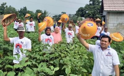 Caleg Perindo Gelar Dialog dan Penyuluhan Petani di Bogor