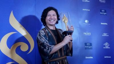 Gading Marten Teriak Kegirangan Menang Aktor Terbaik di FFI 2018