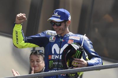 Rossi Minta Maaf Tak Juara MotoGP 2018