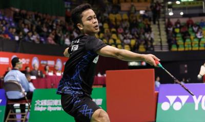 Anthony Ginting Diprediksi Jadi Kuda Hitam di BWF World Tour Finals 2018