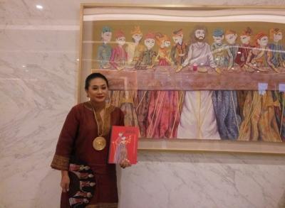 Pelukis Sasya Tranggono Ungkap Sumber Inspirasi dan Koleksinya