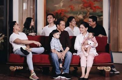 Rahasia Jokowi Bangun Keluarga Harmonis Meski Jarang Ketemu Anak Cucu