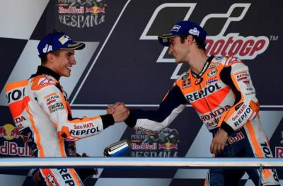 Pedrosa Anggap Marquez Saingan Terberat di MotoGP