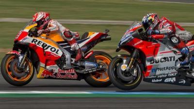 Dall'Igna: Marquez-Honda Dominan atas Dovizioso-Ducati