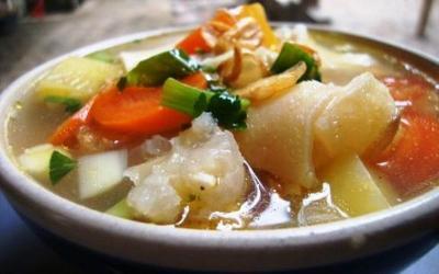 Makan Siang Dijamin Lahap dengan Sop Kikil atau Lontong Kikil, Ini Resepnya