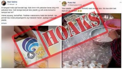 4 Hoax Paling Menggemparkan di 2018, Telur Palsu hingga Kartu Nikah 4 Foto Istri!
