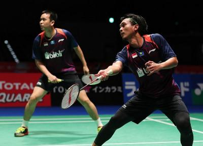Ahsan Hendra Melaju Mulus ke Babak Kedua Malaysia Masters 2019