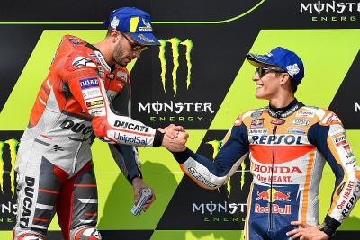 Ciabatti Sebut Dovizioso Selevel dengan Marquez